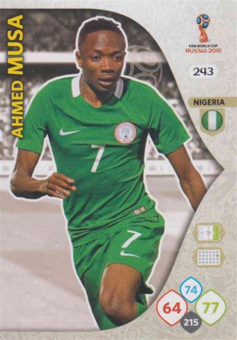 Musa Nigeria Wc18 243 Ahmed Musa Nigeria Team Mates