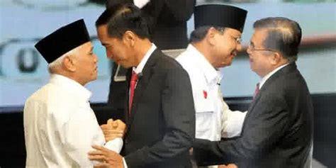 Fragmen Fragmen Kekalahan prabowo dan jokowi diminta siapkan pidato kemenangan dan kekalahan