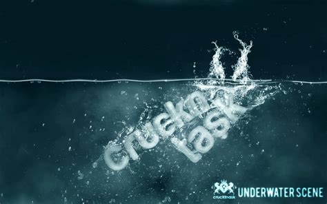 How To Design Water Effect In Photoshop | how to create a sinking object in adobe photoshop top