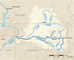 colorado river watershed map green river basin coyote gulch