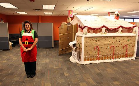 epic holiday office decorating contest epic cubicles shoplet