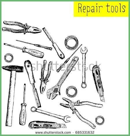 best tools for drawing best of set sketch tools repair handpainted hammer stock