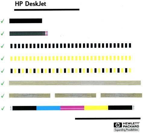 Hp Color Printer Test Page Deskjet 1220c Printing A Test Page Every Time Computers