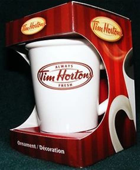 Unmarketing Limited tim hortons coffee mug cup set of 2 stripes cafe