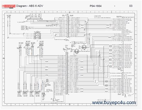 kenworth t600 wiring diagrams wiring diagram with