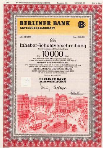 berliner bank de hwph ag historische wertpapiere berliner bank