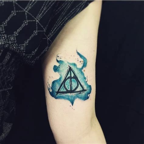 unique harry potter tattoos 40 magical n unique harry potter tattoos for true fans