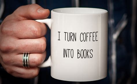 is for coffee a gift book books gifts for writers adazing