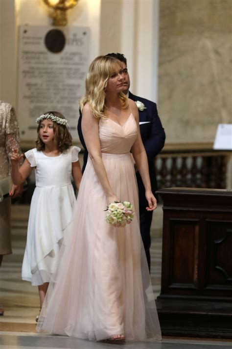 Kirsten Dunst Is Not A Friend To The Elderly by Kirsten Dunst Is A Bridesmaid At The Rome Wedding Of