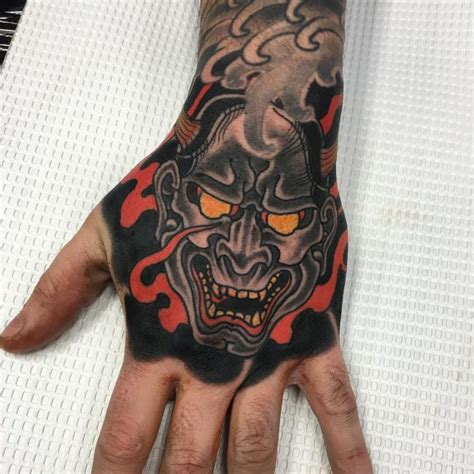 japanese tattoo full hand 40 intriguing japanese mask tattoo designs a rich