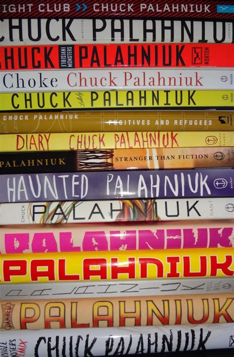 s mirage hell yeah books stack of chuck palahniuk books hell yeah books n