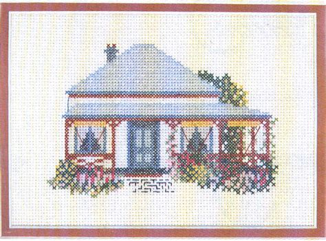 house pattern cross stitch cross stitch houses