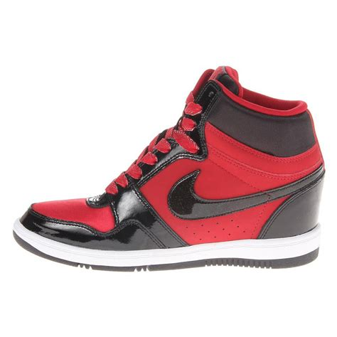 wedge athletic shoes nike women s sky high sneaker wedge sneakers