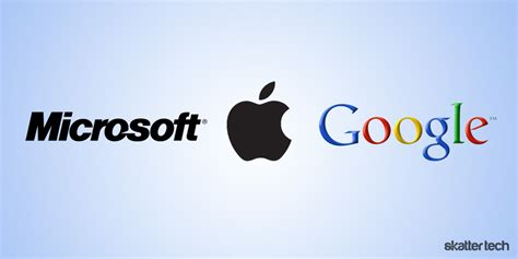 apple google the value of competition a microsoft apple google