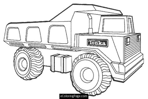 printable coloring pages of cars and trucks tonka dump truck printable coloring page ecoloringpage