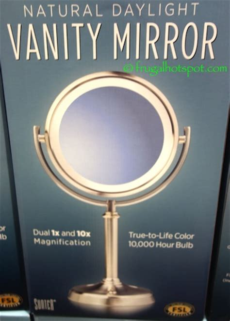 vanity mirror with lights costco costco sale sunter lighted vanity mirror 14 99 frugal