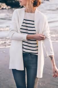 White Black Stripe Sweater 19944 best 25 white cardigan ideas on winter dress
