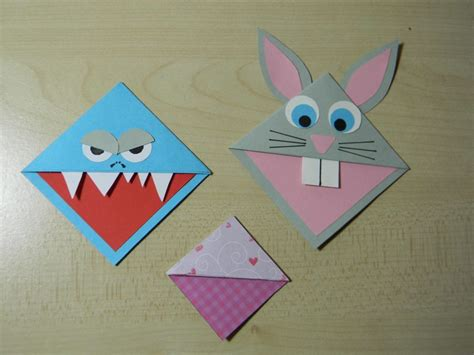 origami page free coloring pages marque page origami origami