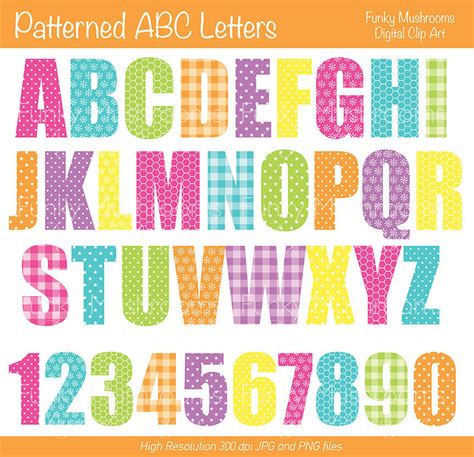printable patterned letters colored printable letters 6 best images of printable for