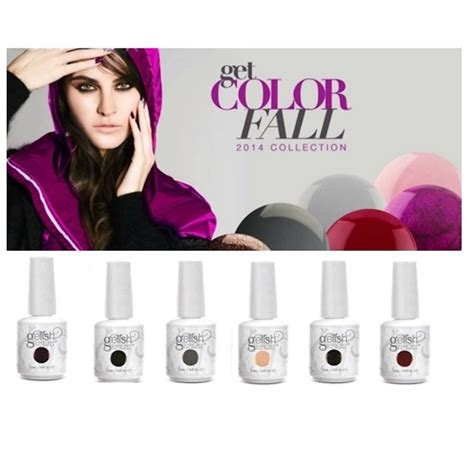 Clean Nail Polish Out Of Carpet by Harmony Gelish 2014 Get Color Fall Collection All 6