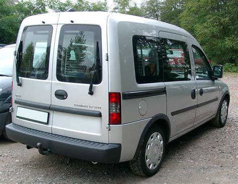 Combo by File Opel Combo Rear 20071002 Jpg Wikimedia Commons
