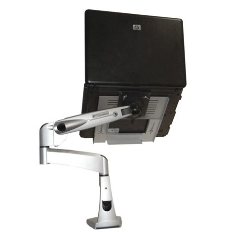 mount laptop desk visionpro 500 laptop desk mount arm ergomounts