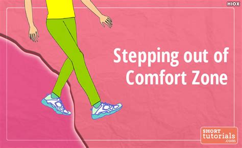 Get Out Of Comfort Zone by Step Out Of Comfort Zone