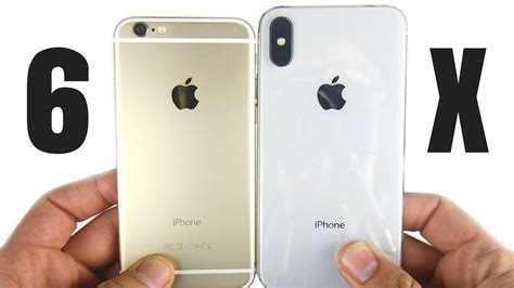 iphone 6 vs iphone x time to upgrade