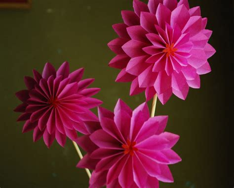 Origami Paper For Flowers - 20 creative origami designs