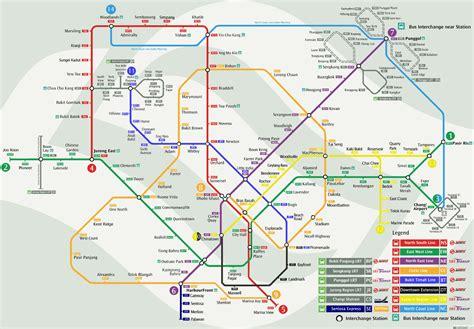Bus Terminal Floor Plan Design by Singapore Mrt Amp Lrt Train Rail Maps