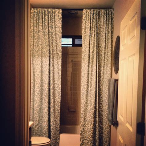 ceiling to floor curtains floor to ceiling shower curtains b a t h r o o m ideas