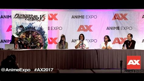 danganronpa anime reaction danganronpa v3 anime expo panel va dub reaction hd 1080p