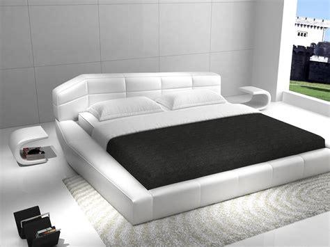 rishon king size modern european style white platform