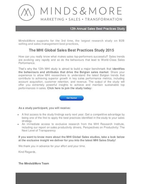 sle executive summary for a report 2013 mhi sales best practices study executive summary