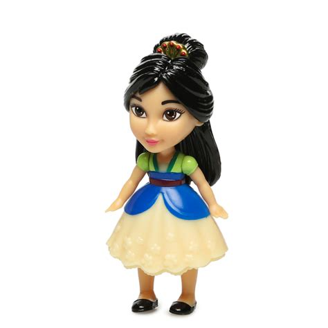 Disney Posable Mini Toddler disney princess mini toddler doll mulan hollar so