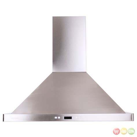 cavaliere sv218b2 30 stainless steel wall mount range - Stove Hoods