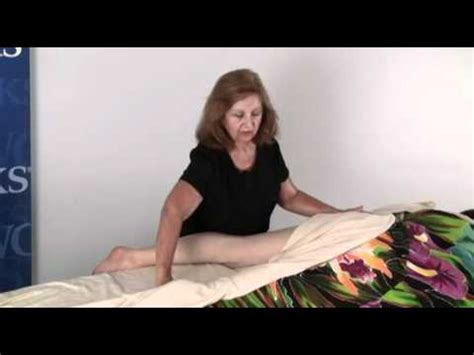 esalen massage draping lomi massage techniques with gloria coppola leg draping