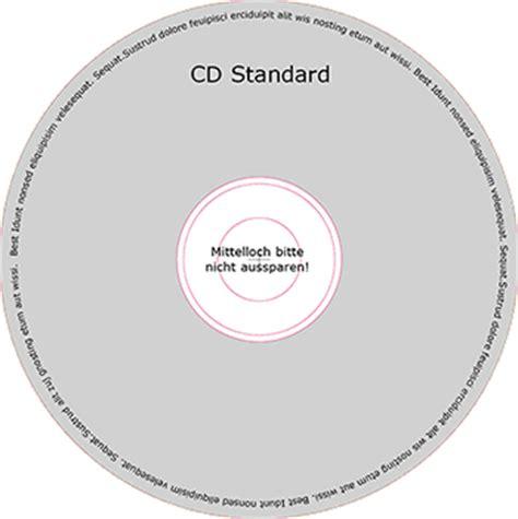 Indesign Cd Vorlage vorlagen cd und booklet repro