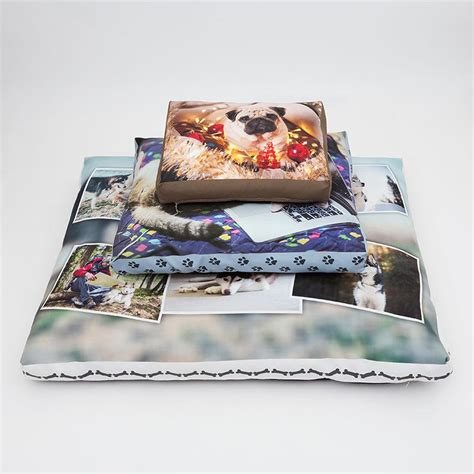 personalized beds personalized dog bed design your own dog bed with photos
