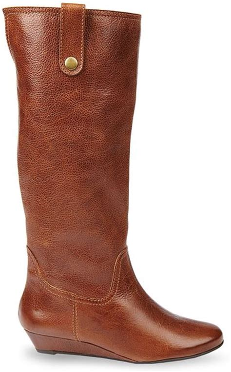 steve madden steven by wedge boots inspirre in brown