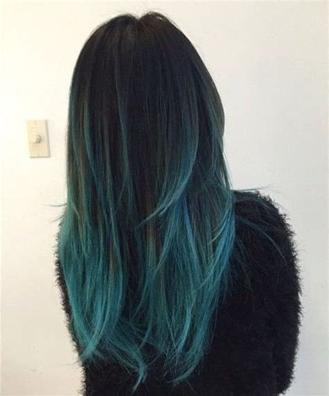 should i dye my hair or highlight at fifty years old 18 beautiful blue ombre colors and styles popular haircuts