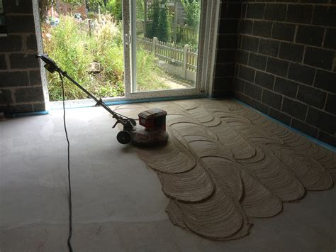 PBFlooring Liquid screed polished concrete underfloor heating