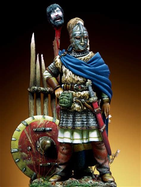 anglo saxon chief vii century a d anglo saxon heritage