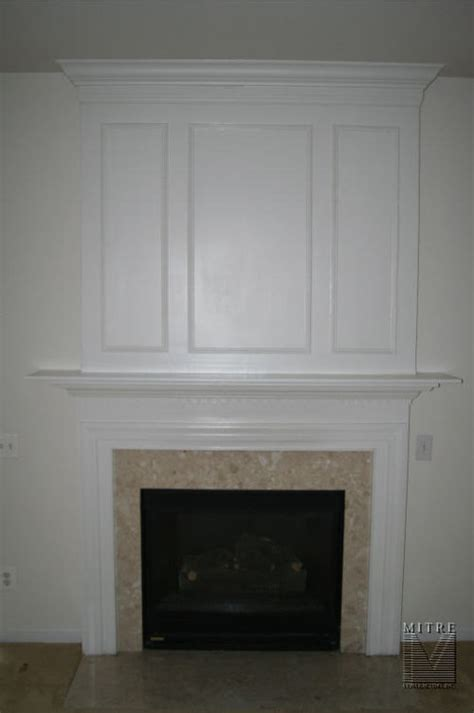 Fireplace Mouldings by Mantels Surrounds Mitre Contracting Inc