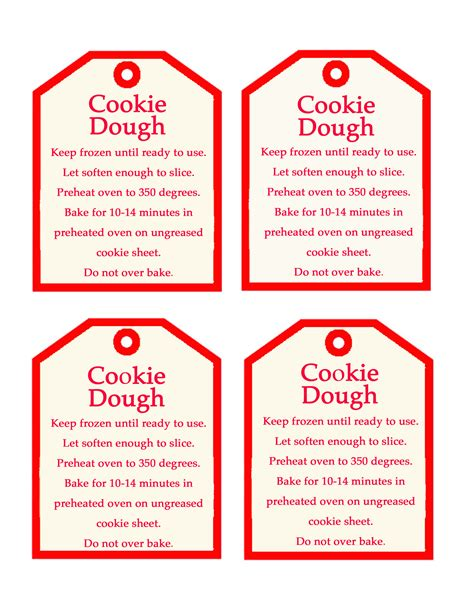 free printable holiday worksheets free christmas cookies 7 best images of christmas cookie labels free printables