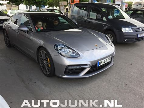 Porsche Panamera 2 by Busted 2017 Porsche Panamera Caught In Traffic Undisguised
