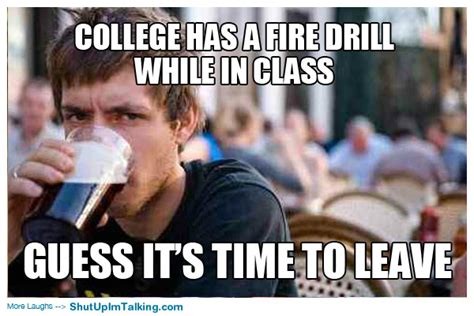 Senior Meme - lazy college senior meme