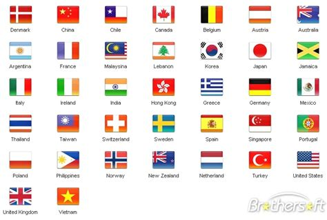 flags of the world countries printable printable flags of different countries pictures to pin on