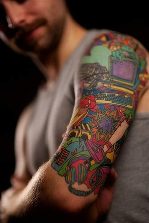 tattoo on half arm 60 most amazing half sleeve tattoo designs