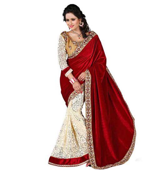 fashion sarees fabian fashion velvet saree buy fabian fashion